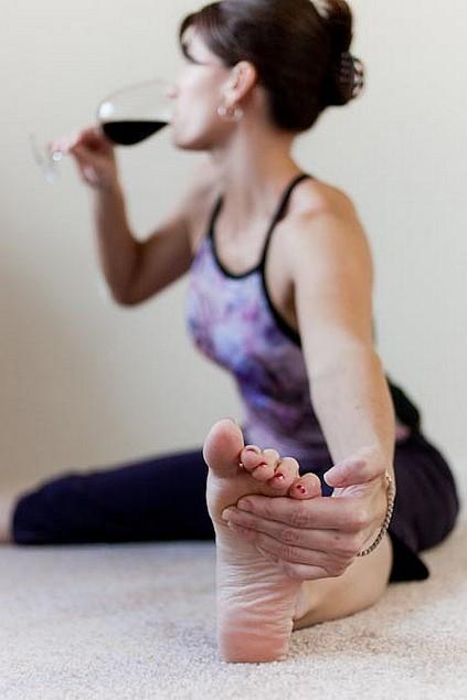 Chocolate, Wine & Gentle Yoga Workshop